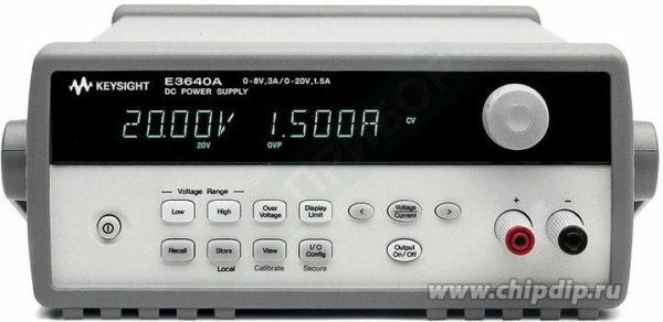 E3641A, Источник питания 35 В/0,8 А или 60 В/0,5 А (Госреестр РФ)