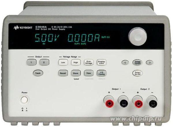 E3647A, Источник питания 2 выхода, 35 В/0,8 А или 60 В/0,5 А (Госреестр РФ)