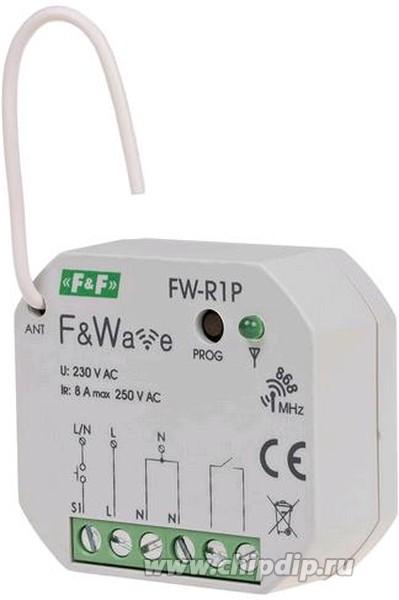 FW-R1P, Реле одноканальное бистабильное с управлением по радиоканалу