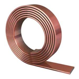 GALMAR GL-11075-50 : полоса омеднённая (30х4 мм) (50 м в бухте)