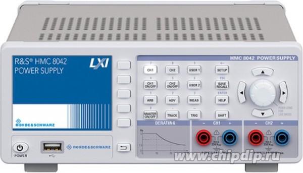 HMC8042-G, Источник питания, 0 - 32В/5А, макс. 100В, 2 канала, IEEE-488 (GPIB)