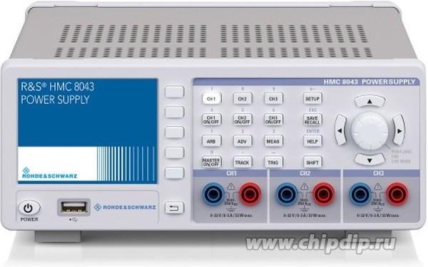 HMC8043, Источник питания, 0 - 32В/3А, макс. 100В, 3 канала (Госреестр РФ)