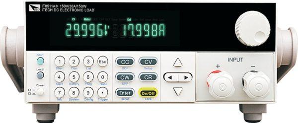 IT8511A+, Электронная нагрузка постоянного тока 150В/30A/150Вт, Itech Technologies (Китай)