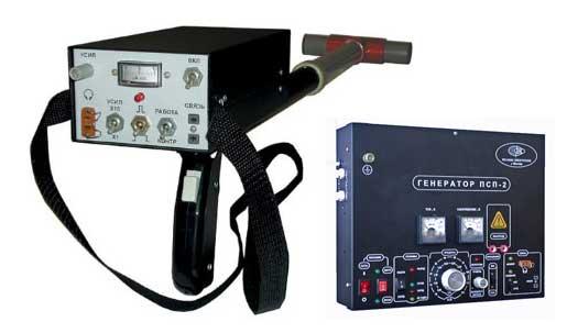 Комплект приборов (трассоискатель) ПСП-2.3