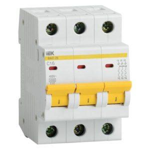 MVA20-3-010-C Авт. выкл.ВА47-29 3Р 10А 4,5кА х-ка С ИЭК