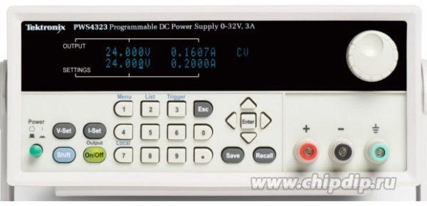 PWS4323, Источник питания программируемый, 0-32В 0-3А 96Вт (Госреестр РФ)