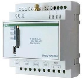 SIMply MAX P04, Реле дистанционного управления с помощью SMS 230В АС 4х8А, 4 NO
