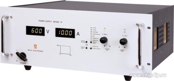 SM 600-10, Источник питания, 600В, 10А, 6000Вт (Госреестр РФ)