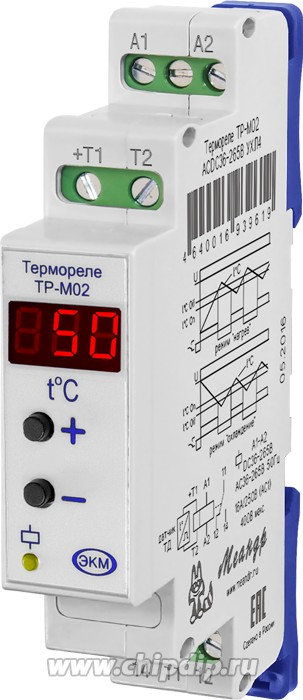 ТР-М02 ACDC36-265В, Реле контроля температуры УХЛ4