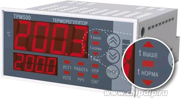 ТРМ500-Щ2.30А, Терморегулятор одноканальный