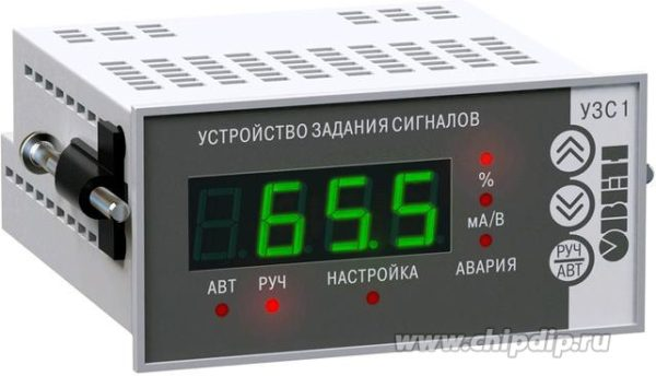 УЗС1-Щ2.И, Цифровой задатчик аналоговых сигналов тока щитовой