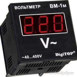Вм-1м, Вольтметр действующего значения переменного тока, однофазный щитовой, ~40…~400.