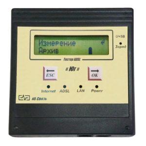 """""""ЮГ"""" тестер ADSL-мини (поддерживаемые технологии - ADSL, ADSL2, ADSL2+) ANNEX A"""