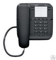 Телефонный аппарат Gigaset DA310 черный, кнопочный