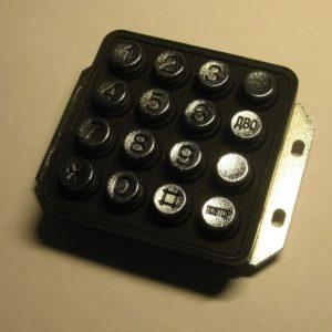 Номеронабиратель KPW-16 для шахтных телефонных аппаратов ТАШ-1319К