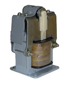 ЭМ33-41311-20 У3, 220В, тянуще-толкающее исполнение, ПВ 100%, IP20, с гибкими выводами, электромагнит (ЭТ)