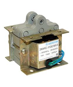 ЭМИС-1100 МУ3, 220В, тянущее исполнение, ПВ 100%, IP20, с гибкими выводами, электромагнит (ЭТ)