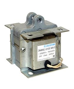 ЭМИС-3100 МУ3, 380В, тянущее исполнение, ПВ 100%, IP20, с гибкими выводами, электромагнит (ЭТ)