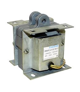 ЭМИС-4100 МУ3, 380В, тянущее исполнение, ПВ 100%, IP20, с гибкими выводами, электромагнит (ЭТ)
