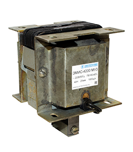ЭМИС-4200 МУ3, 220В, толкающее исполнение, ПВ 100%, IP20, с гибкими выводами, электромагнит (ЭТ)