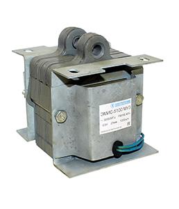 ЭМИС-5100 МУ3, 220В, тянущее исполнение, ПВ 100%, IP20, с гибкими выводами, электромагнит (ЭТ)