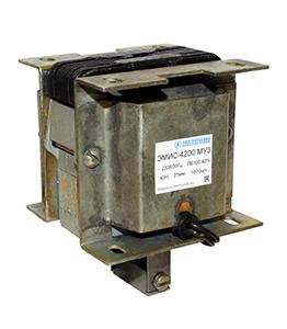 ЭМИС-5200 МУ3, 220В, толкающее исполнение, ПВ 100%, IP20, с гибкими выводами, электромагнит (ЭТ)