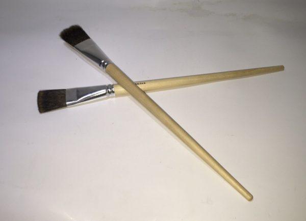 Кисть Коза №24 флейц (имитация Белки)
