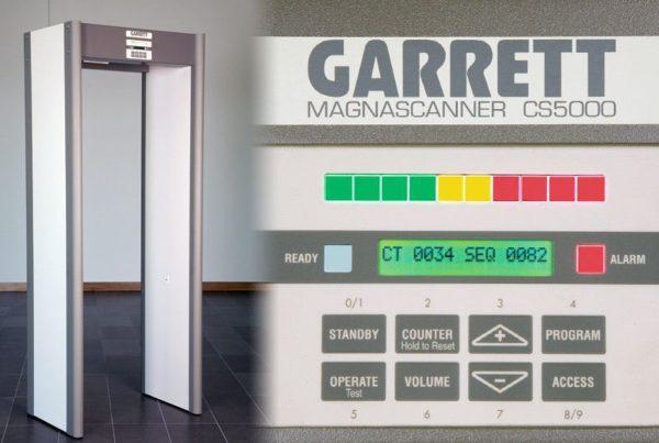 Металлодетектор арочный GARRETT Magnascanner CS 5000