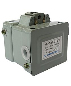МИС-2100 ЕУ3, 220В, тянущее исполнение, ПВ 100%, IP20, с жесткими выводами, электромагнит (ЭТ)