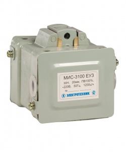 МИС-3100 ЕУ3, 110В, тянущее исполнение, ПВ 100%, IP20, с жесткими выводами, электромагнит (ЭТ)