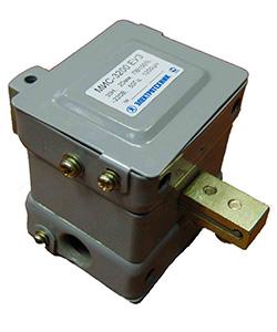 МИС-3200 ЕУ3, 380В, толкающее исполнение, ПВ 100%, IP20, с жесткими выводами, электромагнит (ЭТ)