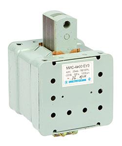 МИС-4200 ЕУ3, 380В, толкающее исполнение, ПВ 100%, IP20, с жесткими выводами, электромагнит (ЭТ)