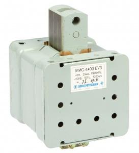 МИС-5200 ЕУ3, 380В, толкающее исполнение, ПВ 100%, IP20, с жесткими выводами, электромагнит (ЭТ)