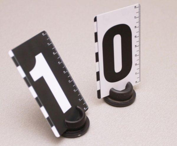 Набор пластиковых номерков 0-9
