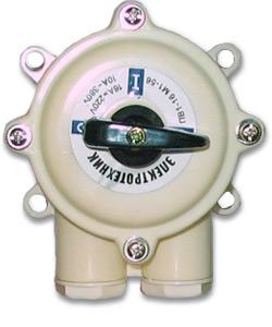 ПВ 1-16 М1 пл. 56 (16А, пластмассовый корпус, IP56), выключатель пакетный (ЭТ)
