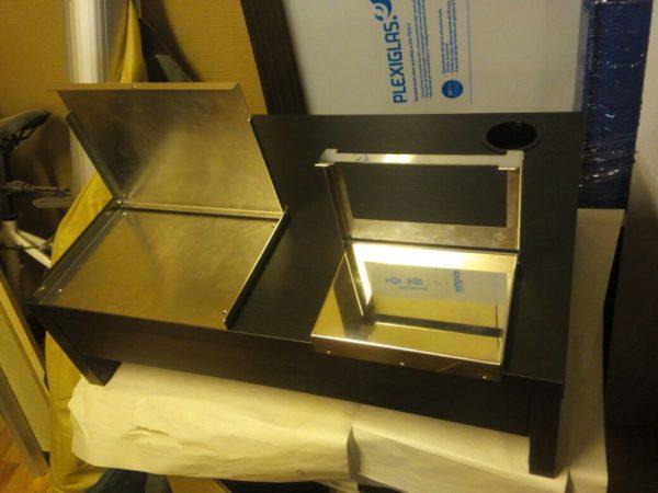 Стол для дактилоскопирования