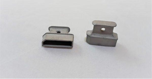 Заглушка компьютерного интерфейса металлическая DP
