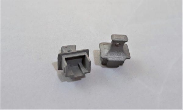 Заглушка компьютерного интерфейса металлическая Ethernet/RJ-45