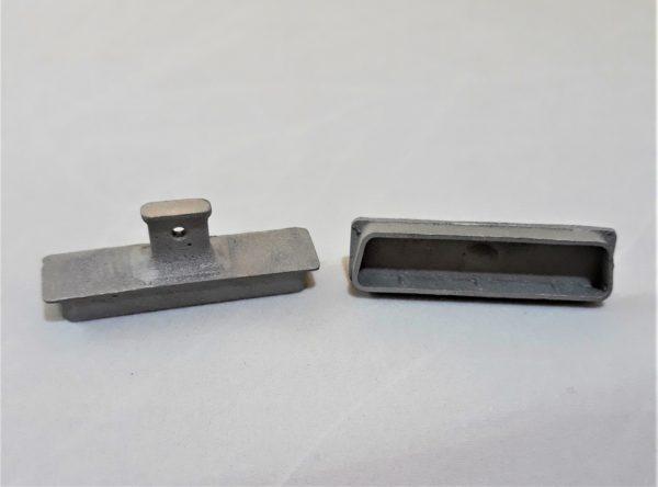 Заглушка компьютерного интерфейса металлическая LPT
