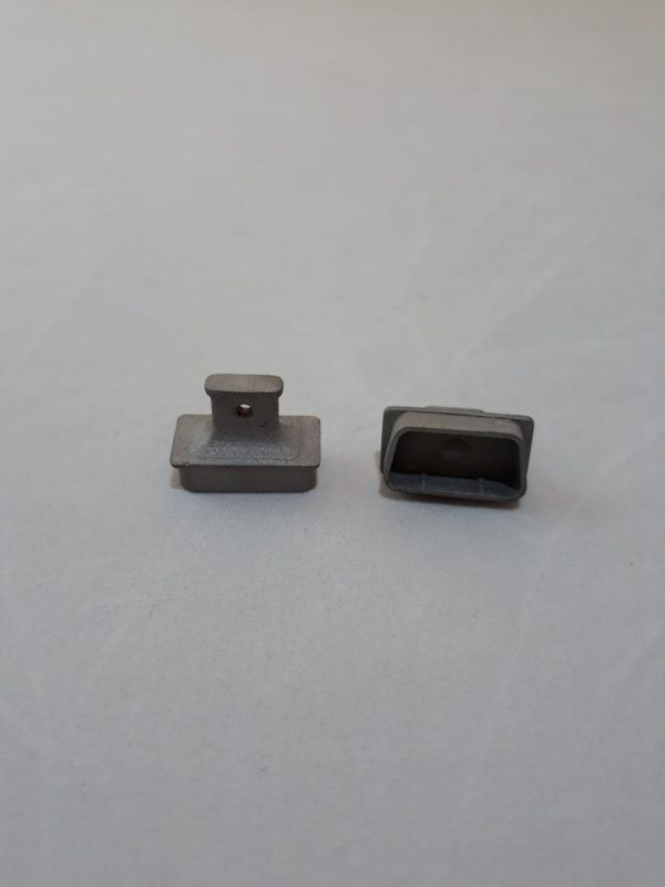 Заглушка компьютерного интерфейса металлическая VGA