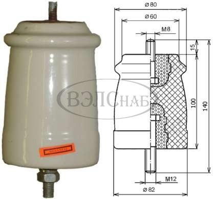 Изолятор ИО-6-3,75 I У3