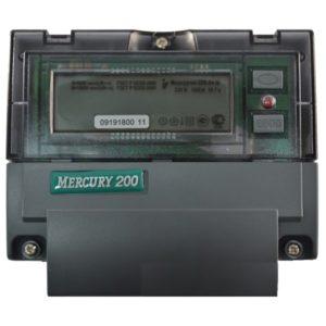 Счетчик электроэнергии  Меркурий 200.04 5(60)А многотарифный ЖКИ