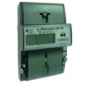 Счетчик электроэнергии  Меркурий 206 RN 5(60)А многотарифный ЖКИ