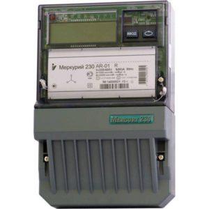 Счетчик электроэнергии  Меркурий 230 AR-01 R 5(60)А однотарифный ЖКИ