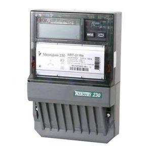 Счетчик электроэнергии  Меркурий 230 ART-01 С(R)N 5(60)А многотарифный ЖКИ