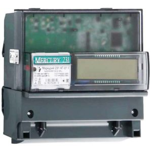 Счетчик электроэнергии  Меркурий 231 АТ-01I 5(60)А многотарифный ЖКИ