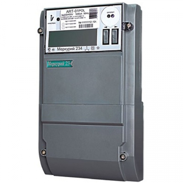 Счетчик электроэнергии  Меркурий 234 ART2-03 P 5(10)А многотарифный ЖКИ