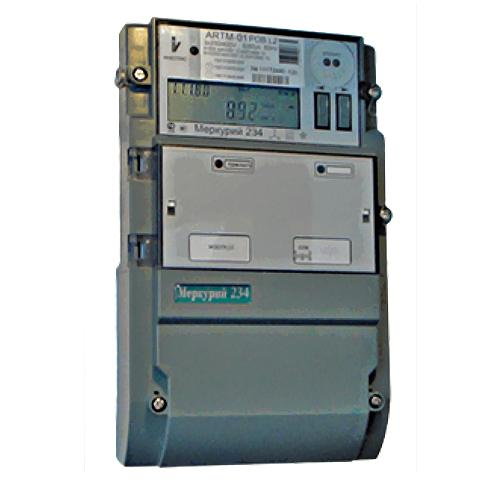 Счетчик электроэнергии Меркурий 234 ARTM-03 PB.L2 5(10)А многотарифный ЖКИ