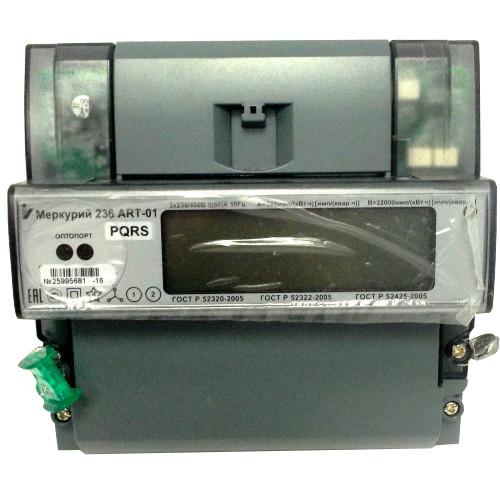 Счетчик электроэнергии  Меркурий 236 ART-01 PQL 5(60)А многотарифный ЖКИ