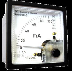 Амперметр переменного тока ЭА0300. ЭА0300-2. ЭА0300-3